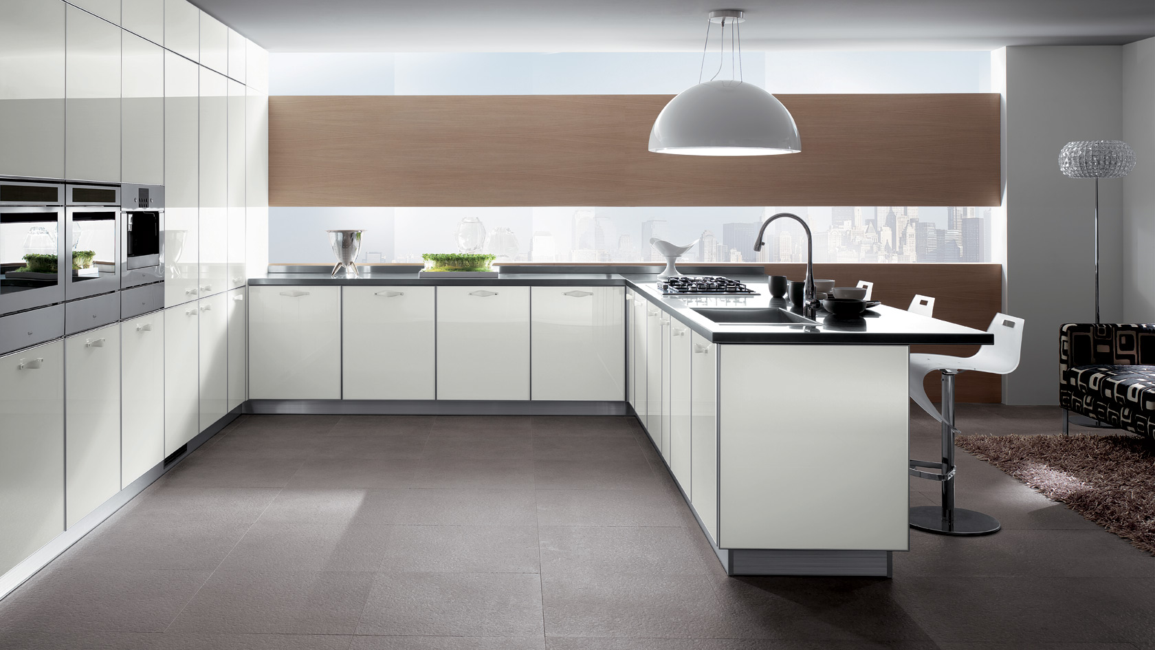 Kitchens: Crystal - See Materials